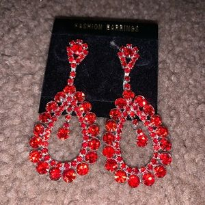 Sparkly Drop Earrings!